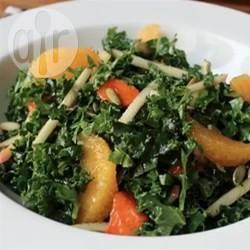 Rauwe boerenkoolsalade recept