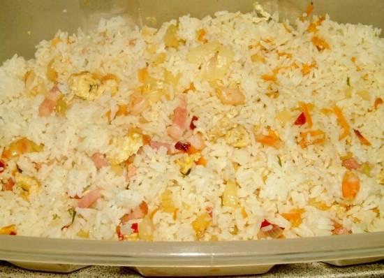 Variatie op chinese nasi recept