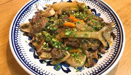Ossobucco met groenten recept