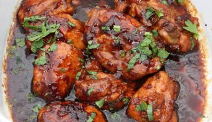 Overheerlijke javaanse kip in sojasaus recept