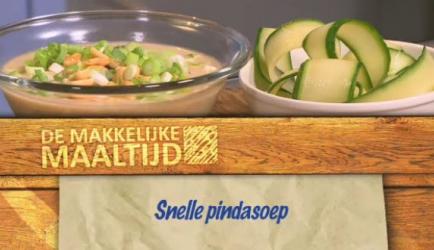 Snelle pindasoep recept