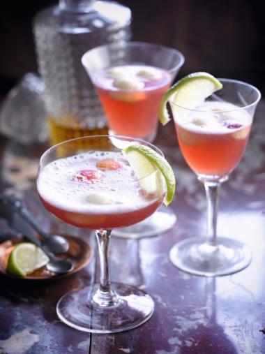 Recept 'cointreau cava cocktail'