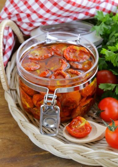 Recept 'gekonfijte tomaten'