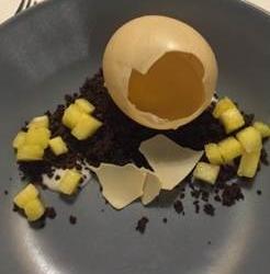 De truc  met het ei recept