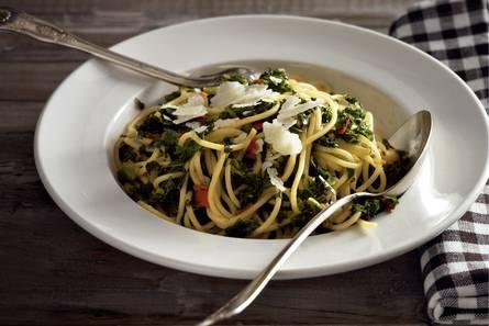 Toscaanse boerenkool 'aglio e olio'