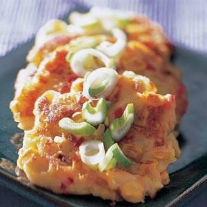 Gefrituurde maïskoekjes recept