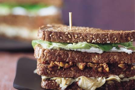 Roastbeef bagel-clubsandwich