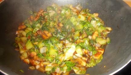 Indische andijvie van riet recept