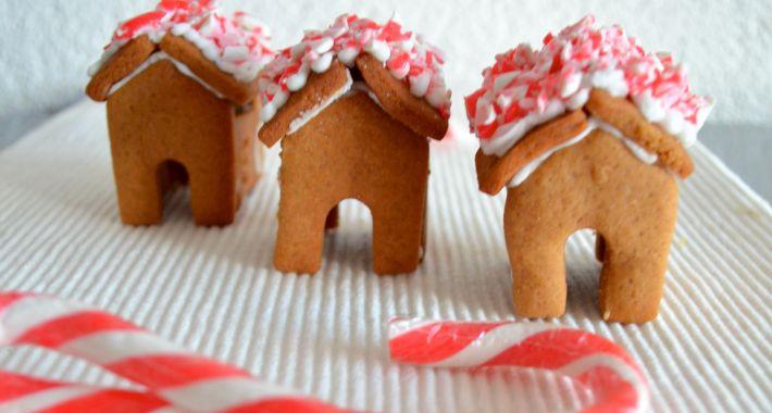 Gingerbread koekhuisjes