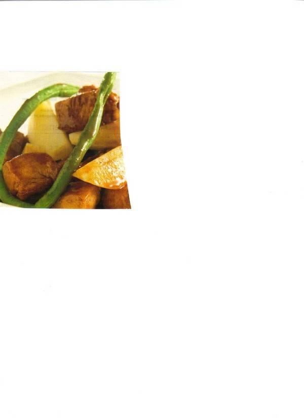 Kip met aardappelen en kouseband recept