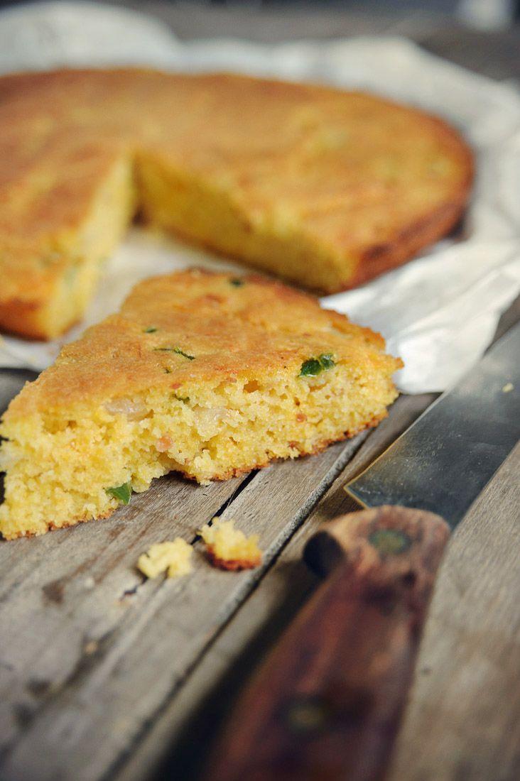 Recept 'pittig gekruid maïsbrood'