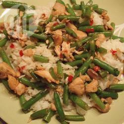 zalm rijst recept