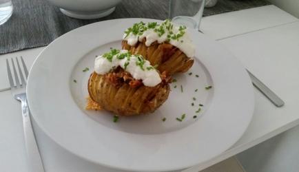 Gevulde hasselback aardappelen recept