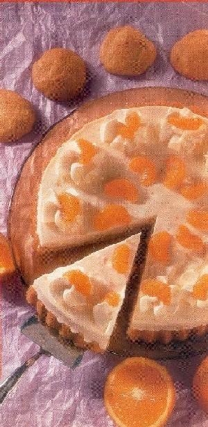 Yoghurttaart met sinaasappel en mandarijn recept