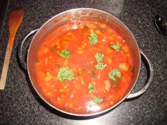 Maaltijdsoep met courgette. recept