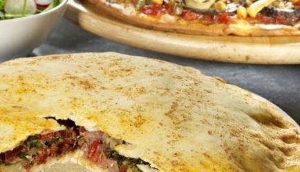 Calzone met parmaham en mozzarella recept