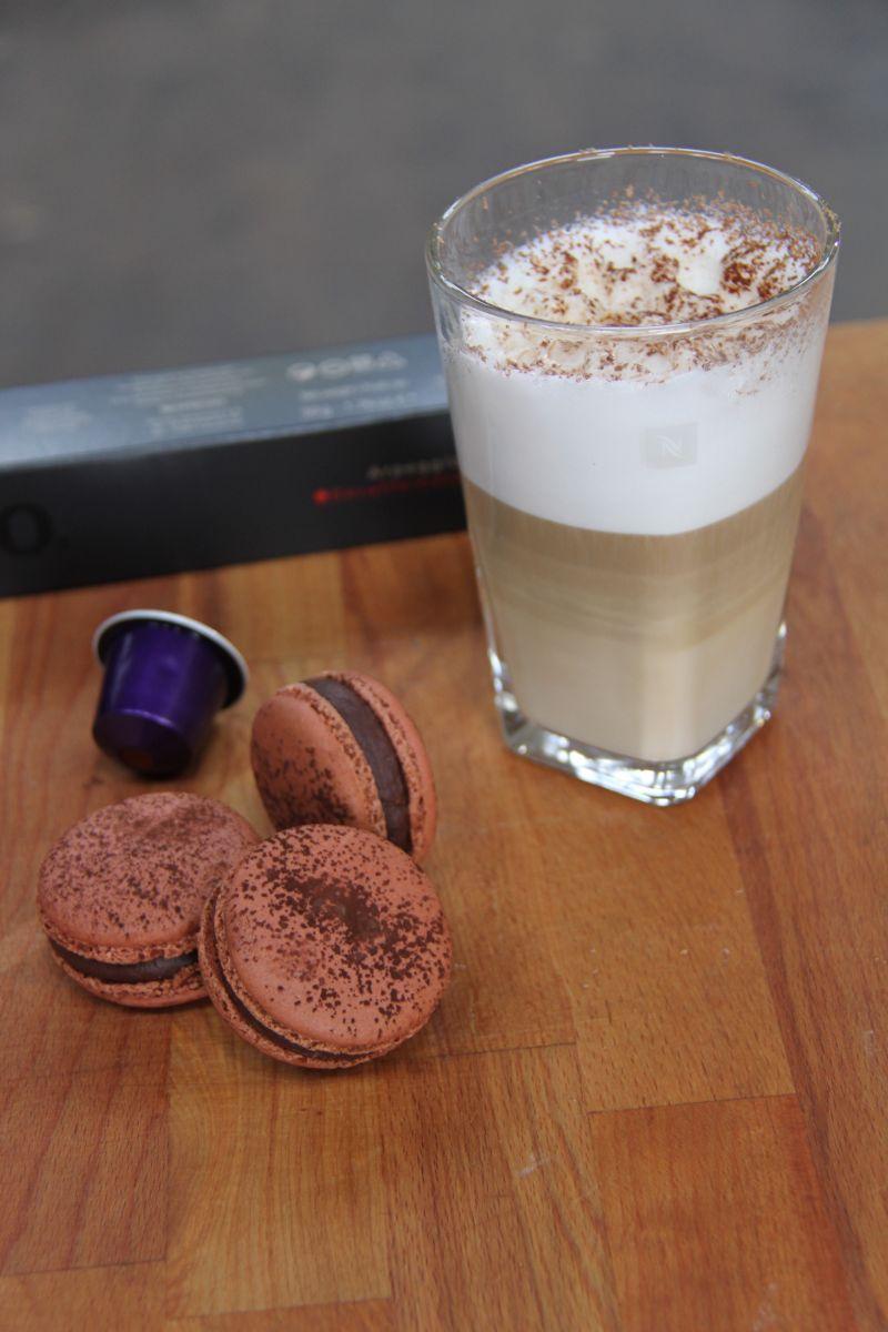 Recept 'chocolade macarons'