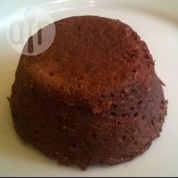 Low carb chocolade rode biet mug cake / muffin recept