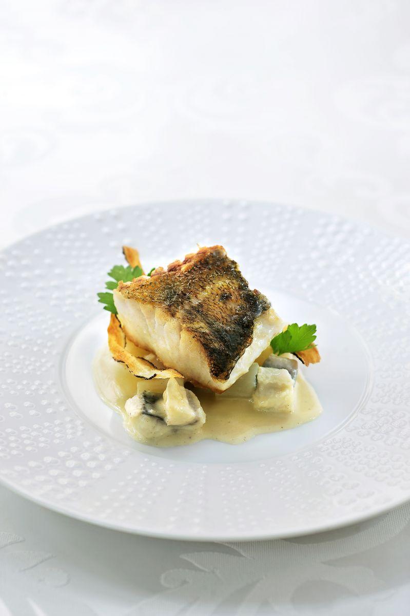 Recept 'snoekbaars met paling en schorseneren'