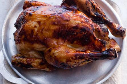 Gemarineerde kip op chinese wijze