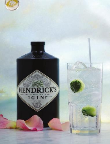 Recept 'hendrick's gin en fentimans tonic'