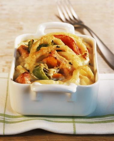 Recept 'macaroni schotel met kaas'
