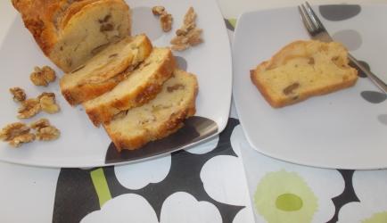 Cake met appel en walnoten recept