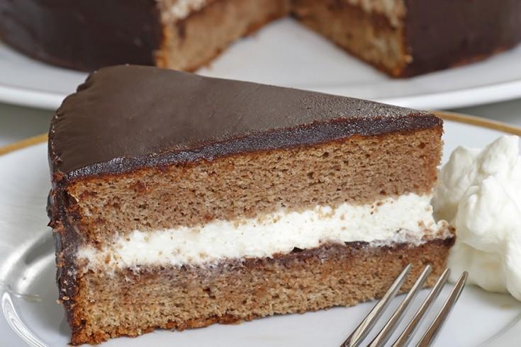 Chocolade kastanjetaart recept