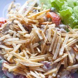 Salpicão (braziliaanse salade met kip) recept