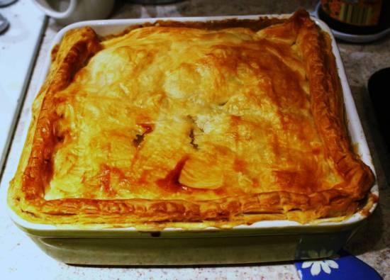 Heerlijke herfst kip-champignon-groentetaart (british pie) recept ...