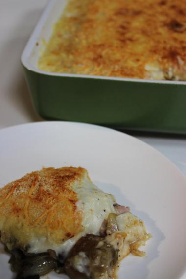 Recept 'ovenschotel met witloof en ham'