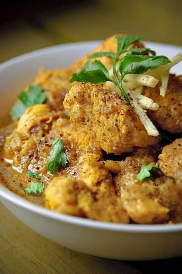 Pittige kip met peper recept