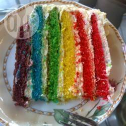 Regenboogcake recept