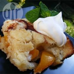Eenvoudige perzik cobbler recept