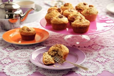 Banaan-honingmuffins