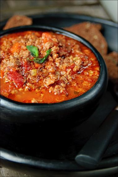 Recept 'klassieke bolognaisesaus'