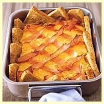 Broodschotel met zuurkool recept
