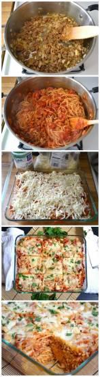 Spaghetti uit de oven recept