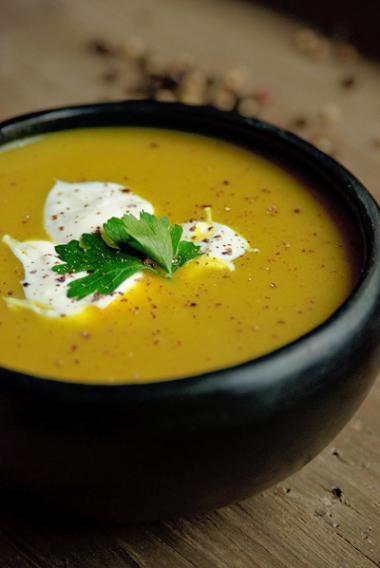 Recept 'indiase aardappel en ui soep'