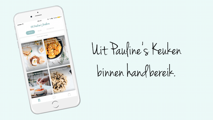 Nieuw: de uit pauline's keuken app 2.0