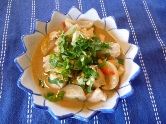 Thaise groene kipcurry van de kookles in thailand recept ...