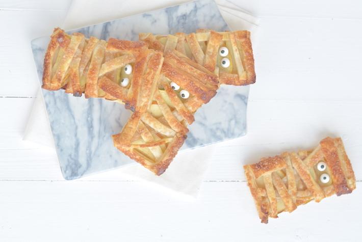 Kidsproof: halloween mummy koekjes