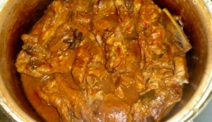 Gefermenteerd, gestoofd rode tofu met krabbetjes recept ...