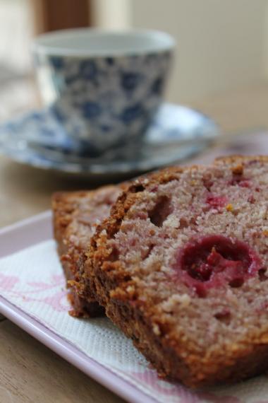 Recept 'brood met frambozen'
