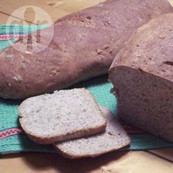 Gezond zemel-lijnzaadbrood recept