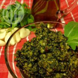 Rucola pesto recept