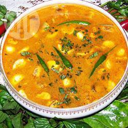 Thaise tom yum soep recept