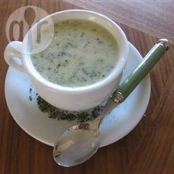 Broccoli-stilton soep recept