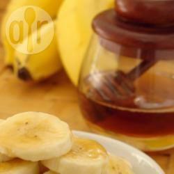 Wafels met banaan en rum-honingsiroop recept