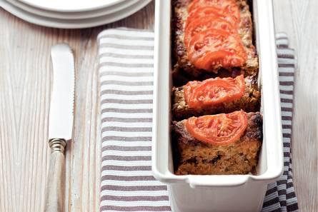 Tomaten-gehaktbrood